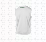 Temp-Tech Team Sleeveless Tee (White)