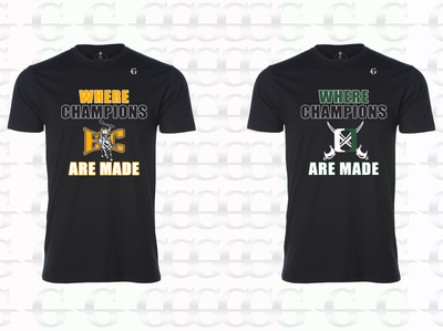Champions Are Made - Tee (Black)