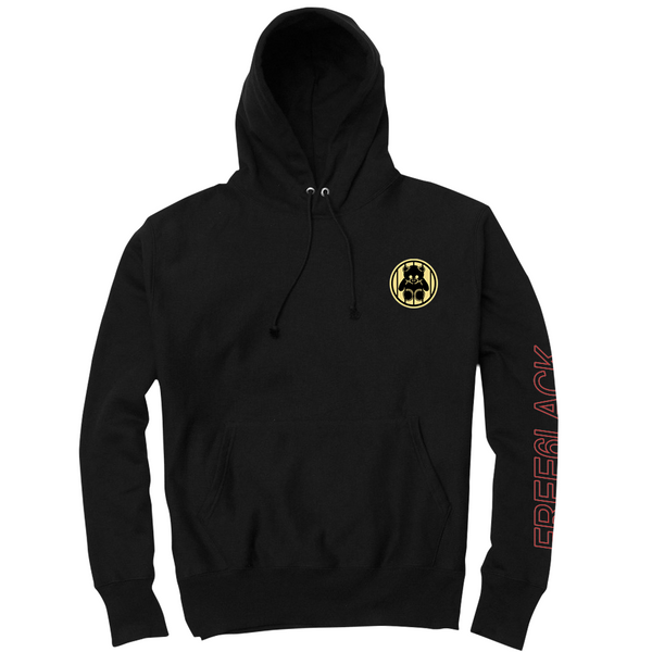 6LACK Jail Bear Hooded Sweatshirt