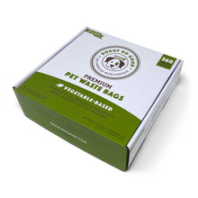 100% Biodegradable Premium Pet Waste Bags - On Rolls (Bulk-Box)