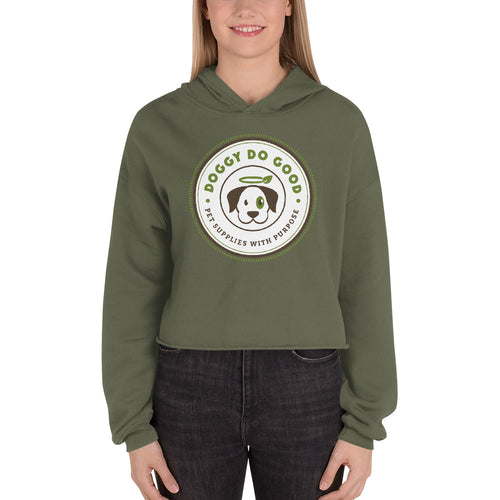 Doggy Do Good - Women's Crop Hoodie