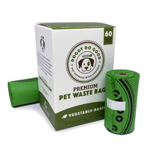 100% Biodegradable Premium Pet Waste Bags - On Rolls
