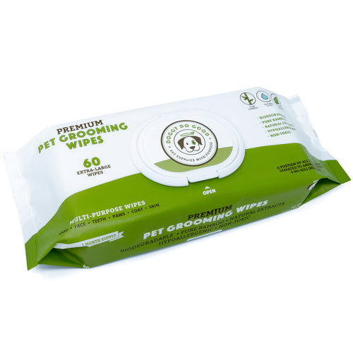 pet grooming wipes