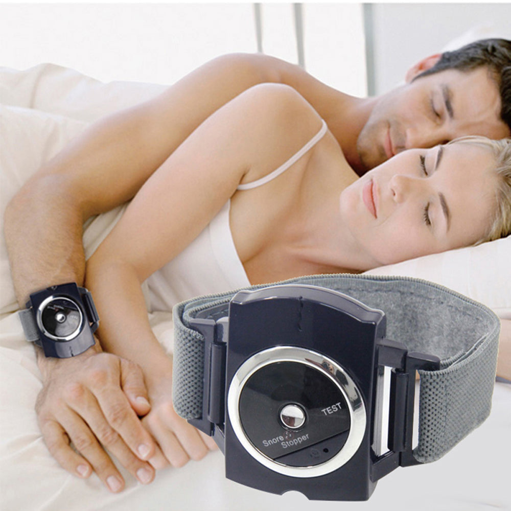 Anti-Snore Wristband Snore Stopper Sleep Connection Bracelet Anti-Snoring Device