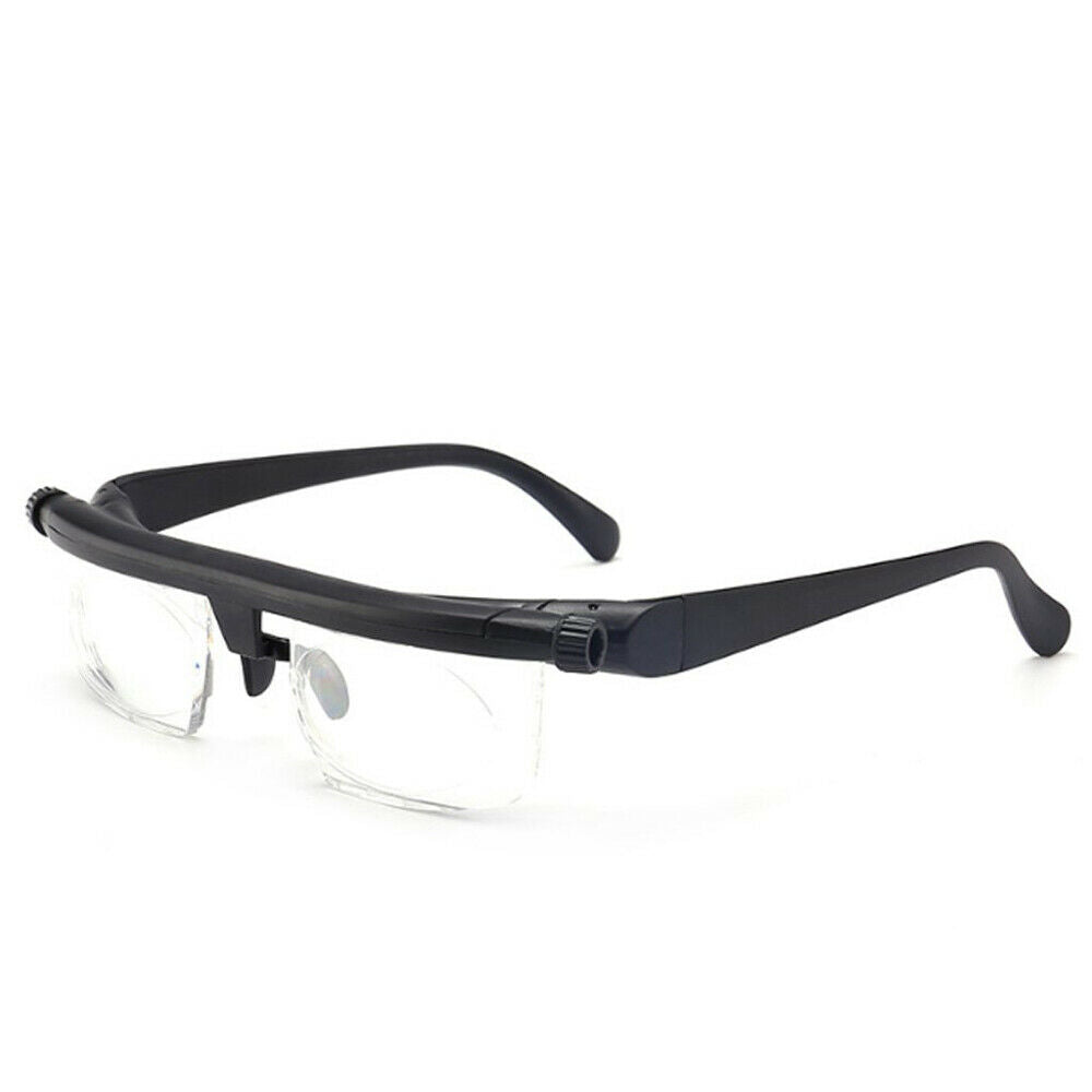 Dial Adjustable Glasses - Variable Focus Eyeglasses For Reading
