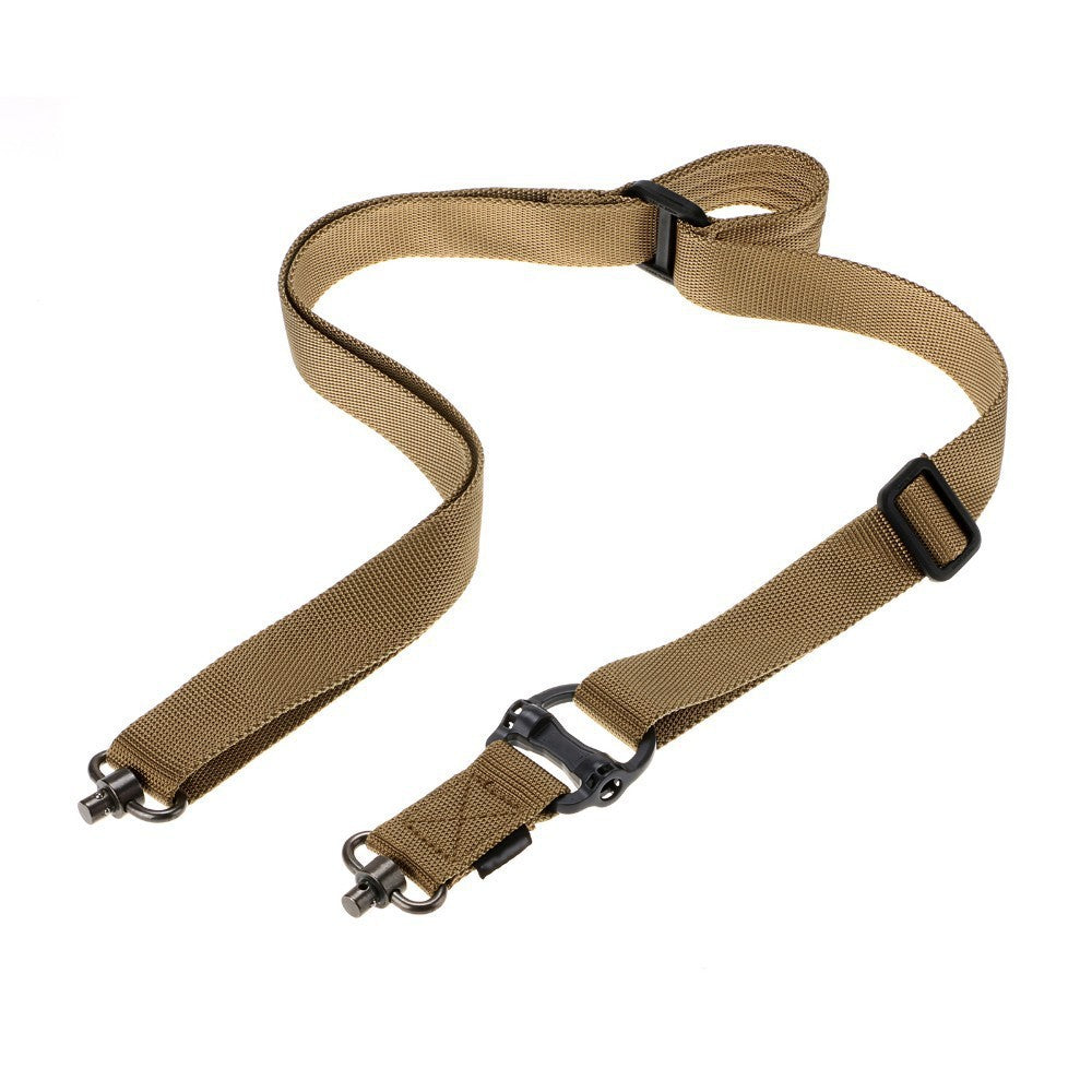 "Adjustable Retro Tactical Quick Detach QD 1 2Point Multi Mission 1.2"" Rifle Sling"