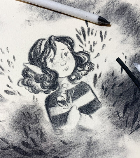 Pro-tips for Drawing with Charcoal