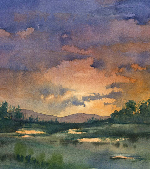 Steve Mitchell :: Spontaneous Landscapes in Watercolour