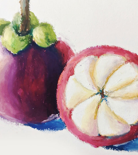 Zoe Lee :: Delicious Still Life Painting with Oil Pastels