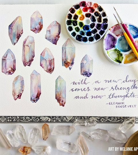 Expert Watercolor Tips From Our Mini Palette Testers (AND: the Launch Date + Giveaway!)