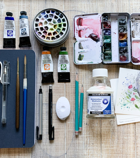 Essential Tools for Beginner Watercolourists