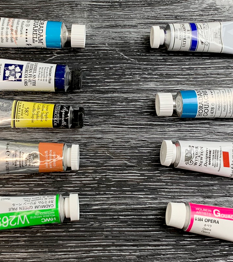 Watercolour vs. Gouache: What's The Difference?