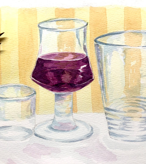 Painting the Nearly Invisible: Tips on Painting Glass