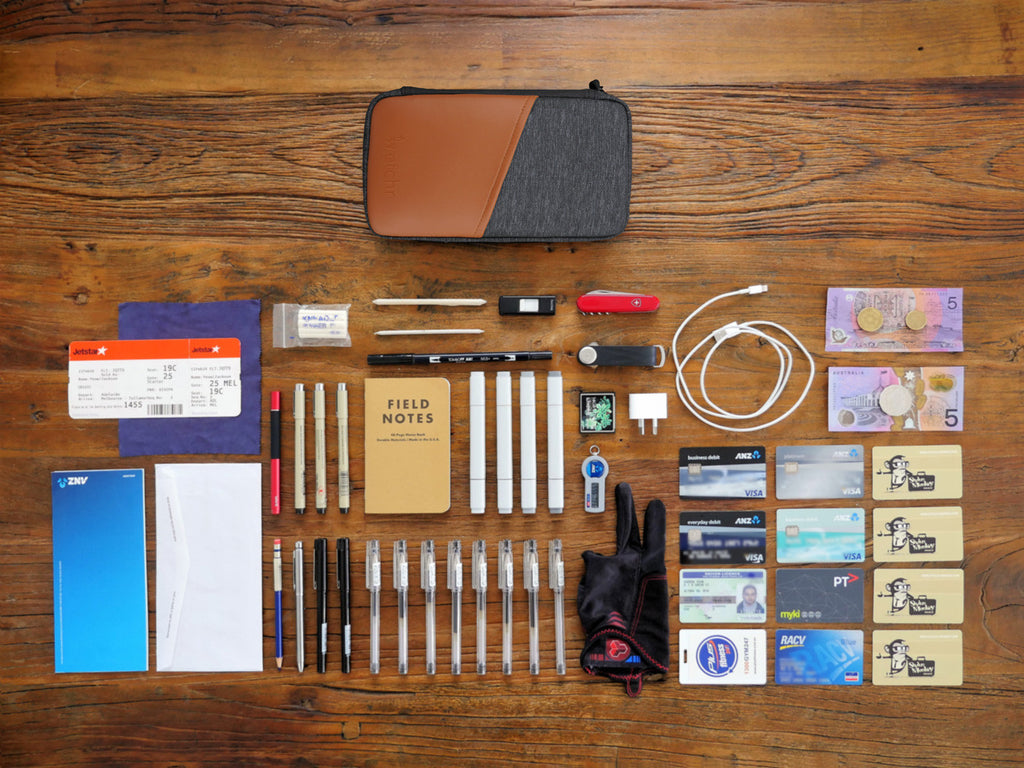 Contents of Etchr Art Satchel