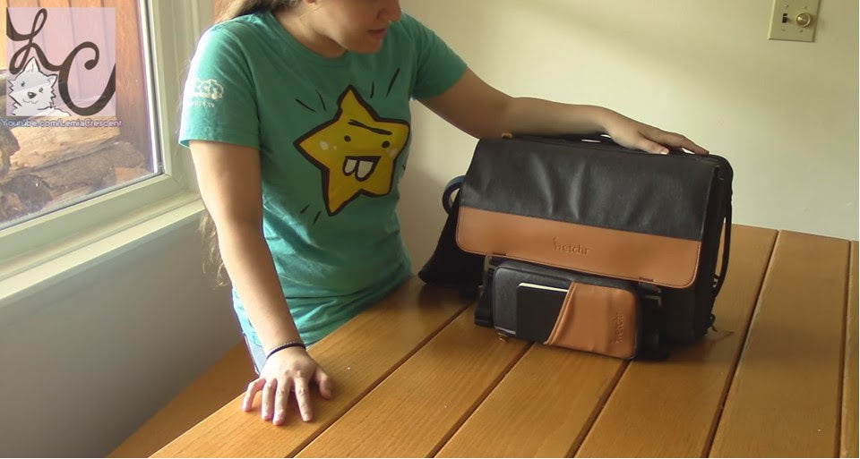 LemiaCrescent Reviewing Etchr Art Satchel & Field Case