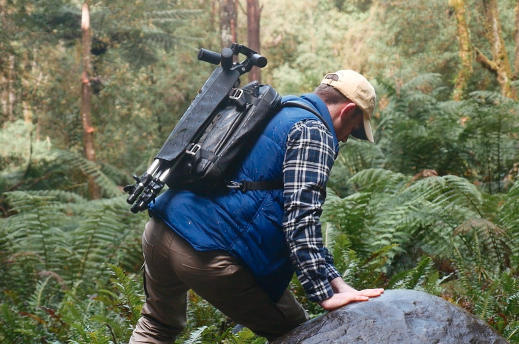 Trekking with the Etchr Art Satchel