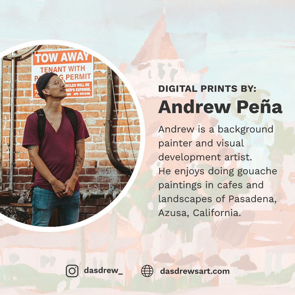 Andrew Peña's Digital Print Bundle