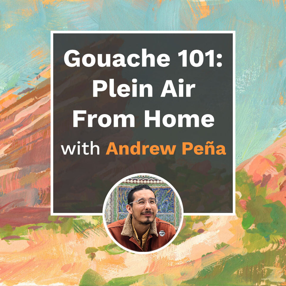 Gouache 101: Plein Air From Home