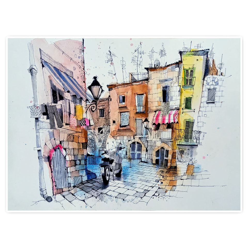 Finding Your Inspiration: Urban Scenes in Watercolour
