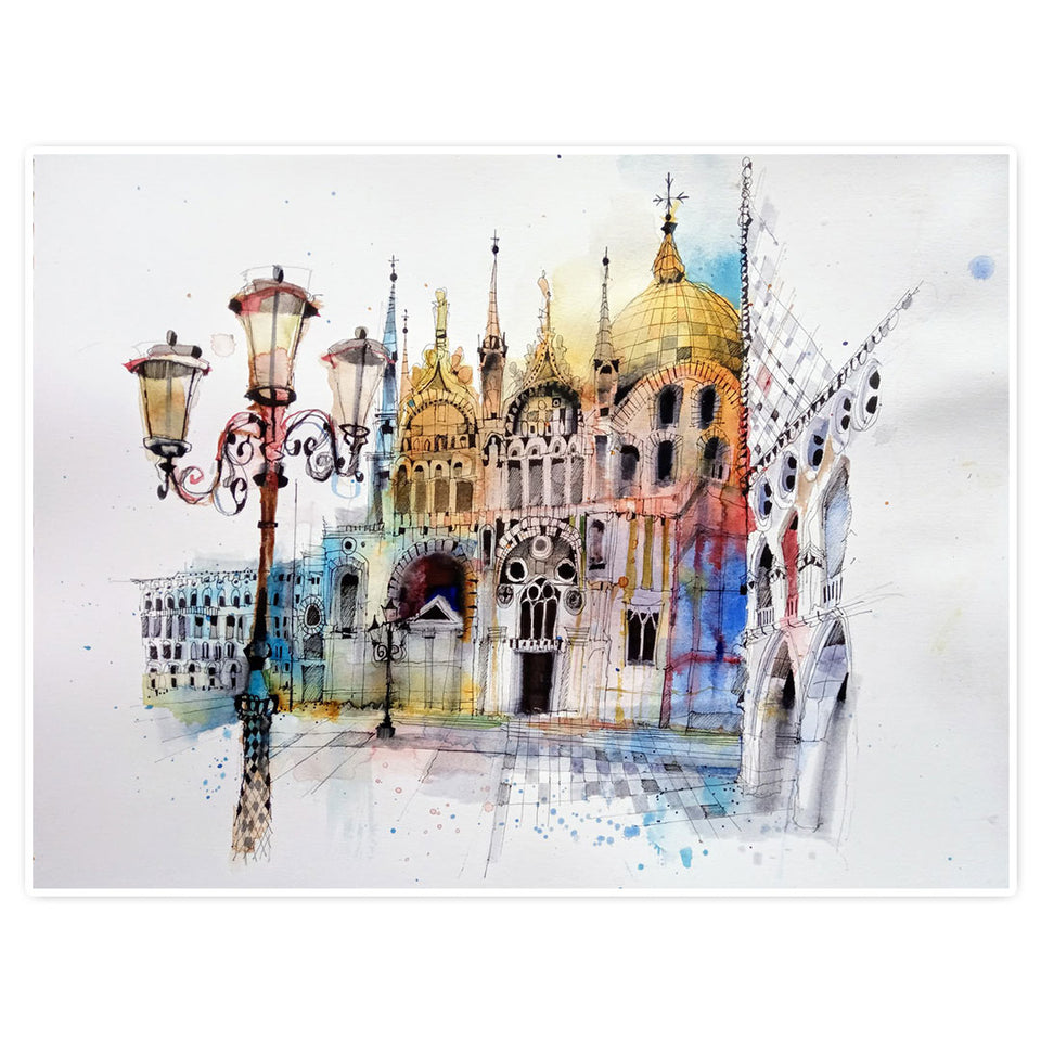 Finding Your Inspiration: Urban Scenes in Watercolour (repeat)