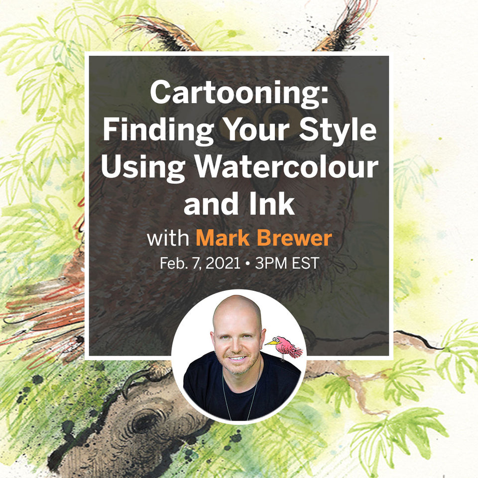 Cartooning: Finding Your Style Using Watercolour and Ink (2)