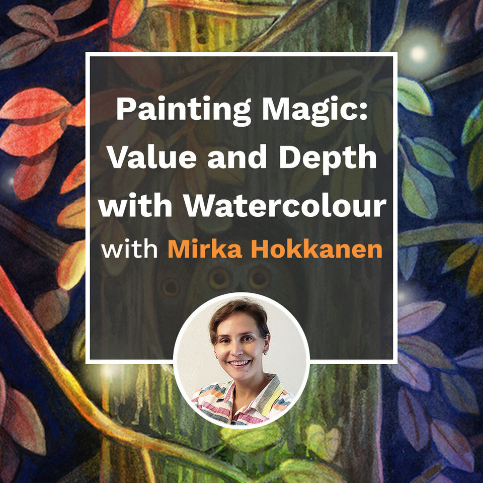 Painting Magic: Value and Depth with Watercolour