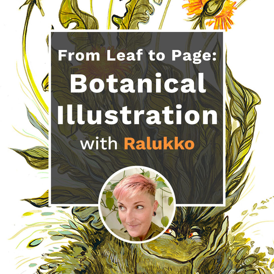 From Leaf to Page: Botanical Illustration