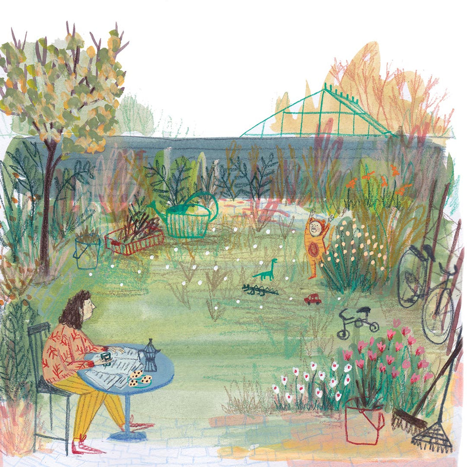 Gorgeous Gardens: Exploring Colours and References in Mixed Media