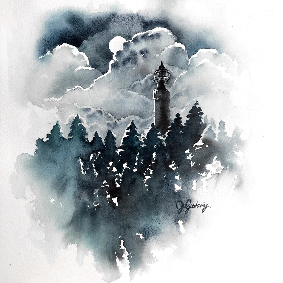 Negative Painting in Watercolour: Skyscapes (Recording)