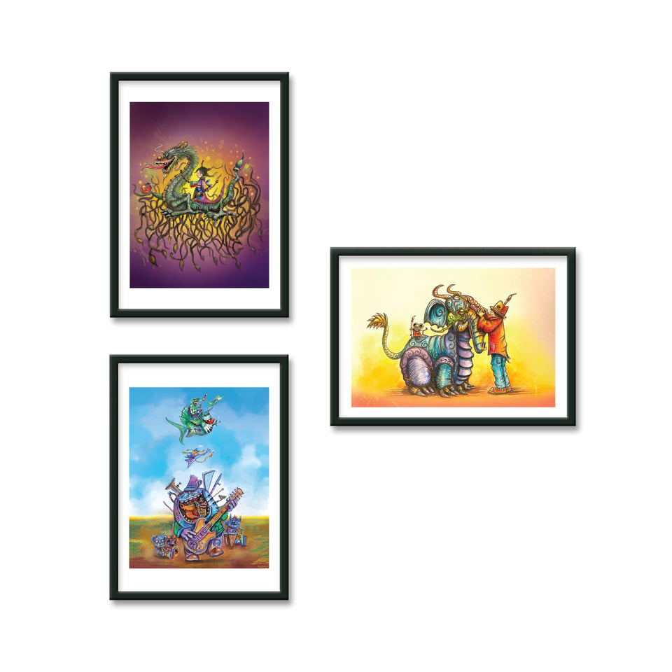 IPaintCreatures Digital Print Bundle