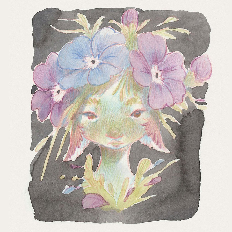 Exploring Whimsical Flower Sprites in Watercolour