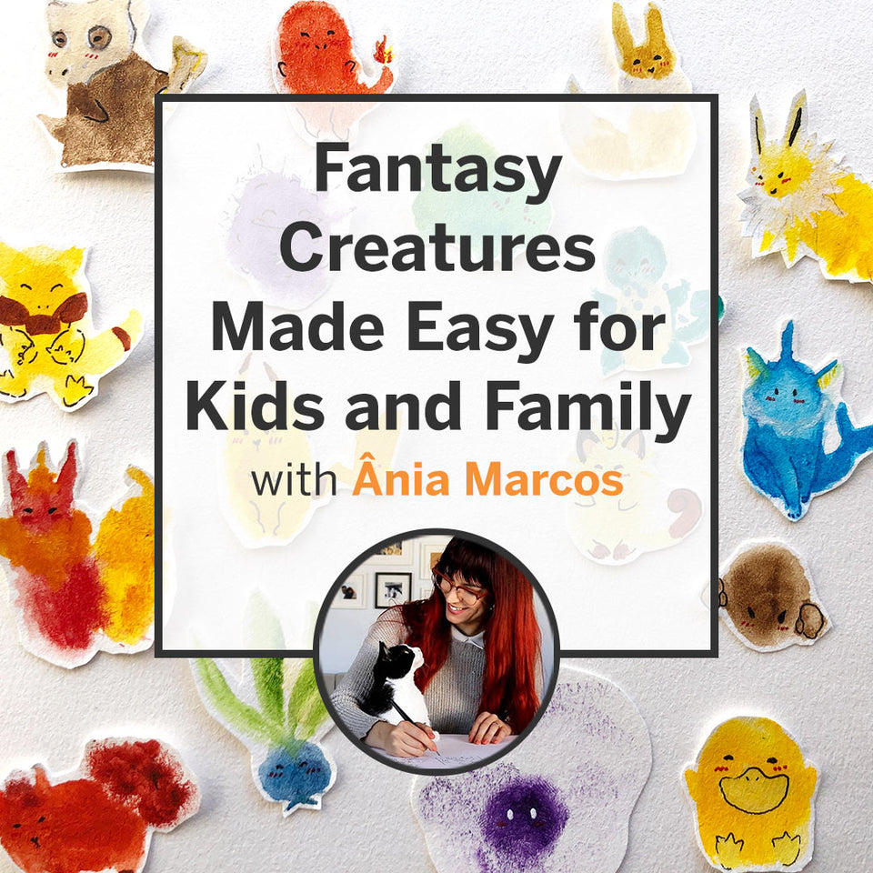 Fantasy Creatures Made Easy for Kids and Family (Recording)