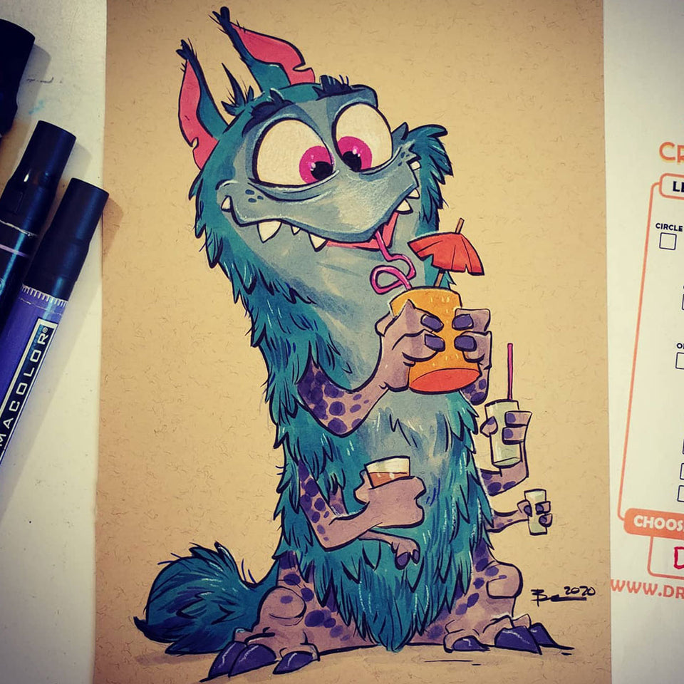 Ink and Imagination: Creating Cute Creatures