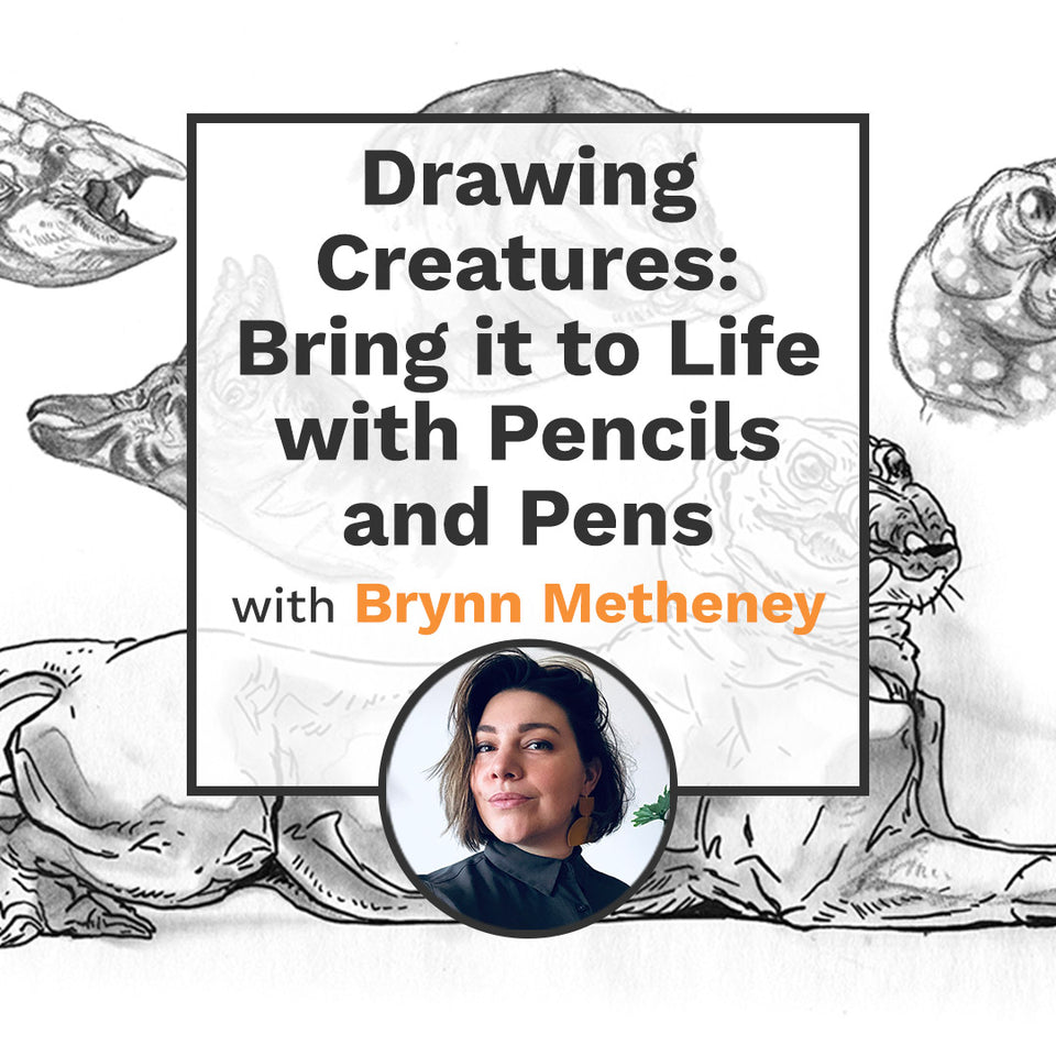 Drawing Creatures: Bring it to Life with Pencils and Pens