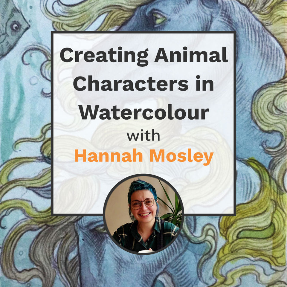Creating Animal Characters in Watercolour