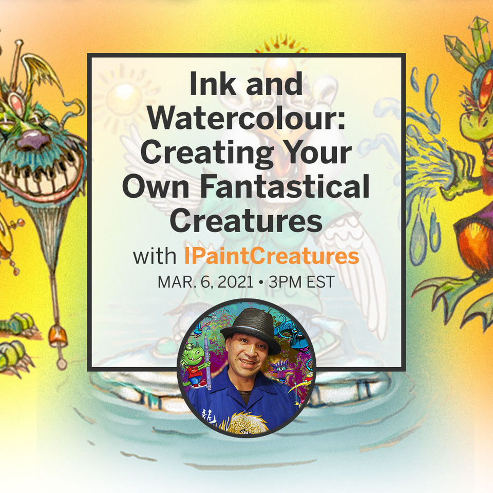 Ink and Watercolour: Creating Your Own Fantastical Creatures
