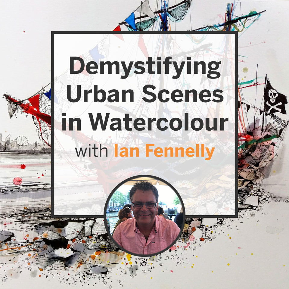 Demystifying Urban Scenes in Watercolour (Recording)
