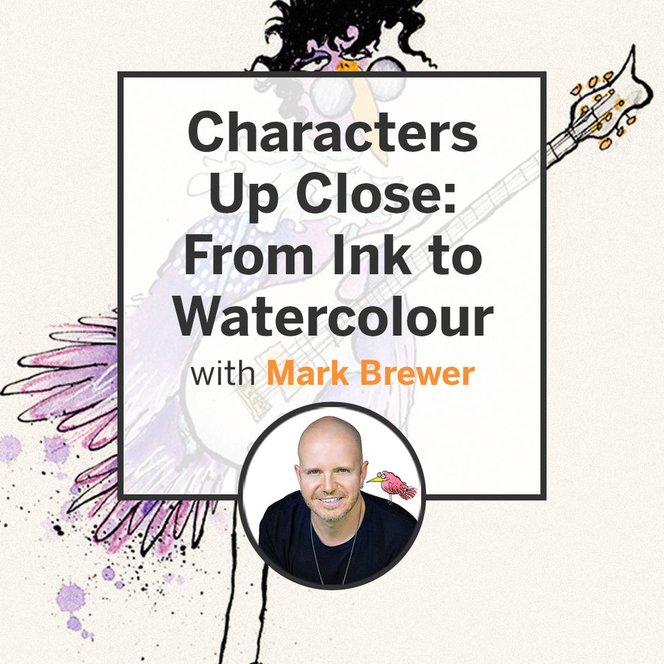 Characters Up Close: From Ink to Watercolour