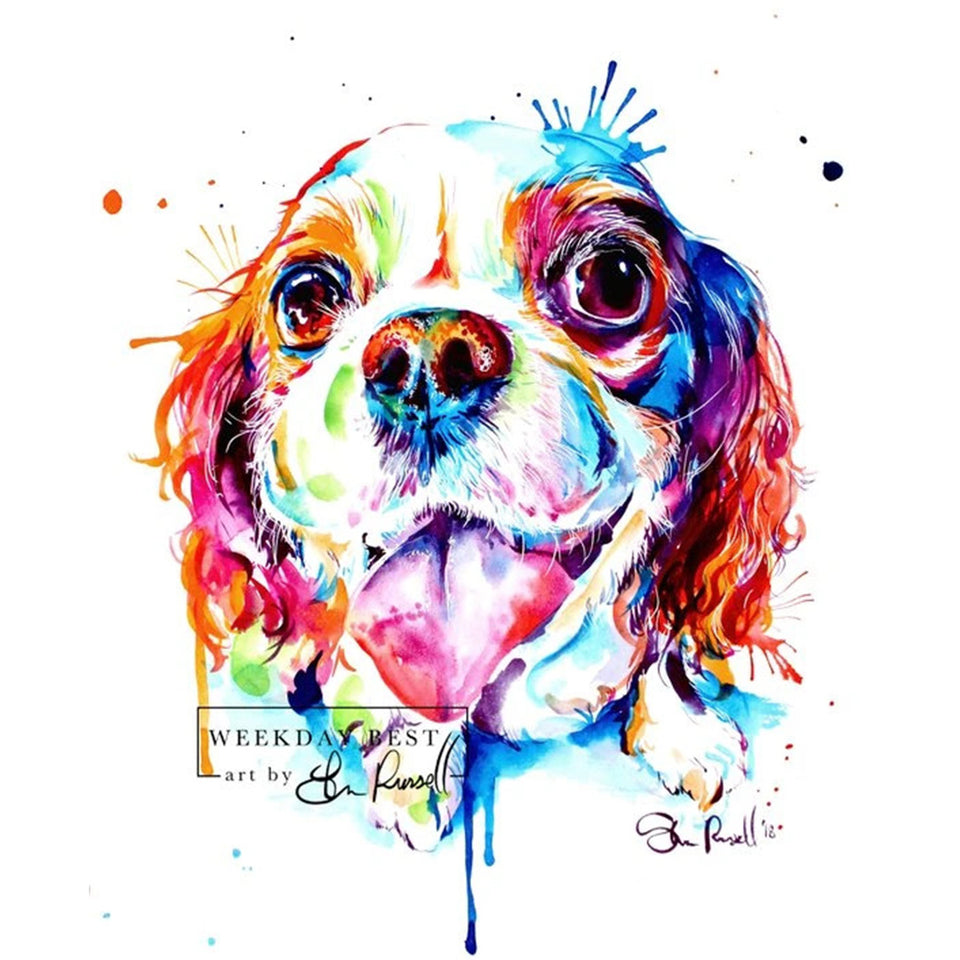 Paint Your Pet in Wild Watercolours