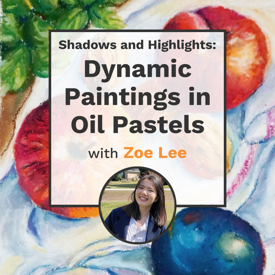 Shadows and Highlights: Dynamic Paintings in Oil Pastels