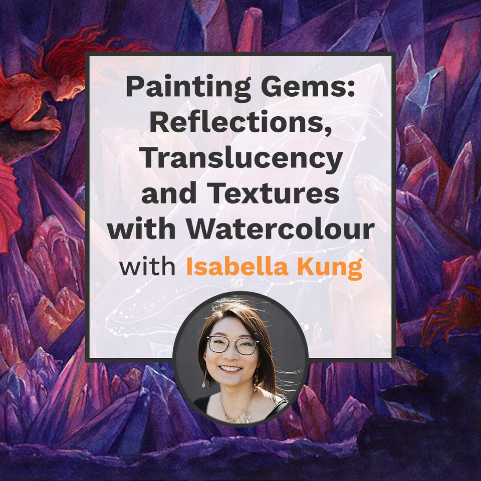 Painting Gems: Reflections, Translucency and Textures with Watercolour