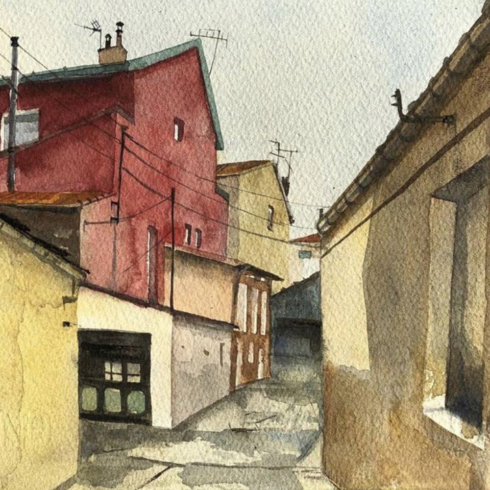 Urban Landscapes in Watercolour