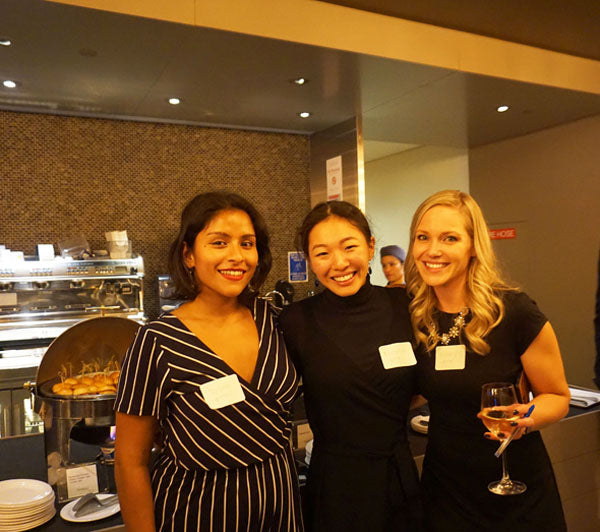 BREAST TREATMENT TASK FORCE HOSTS A PRIVATE COCKTAIL EVENT AT PROSKAUSER ROSE LLP IN TIMES SQUARE.