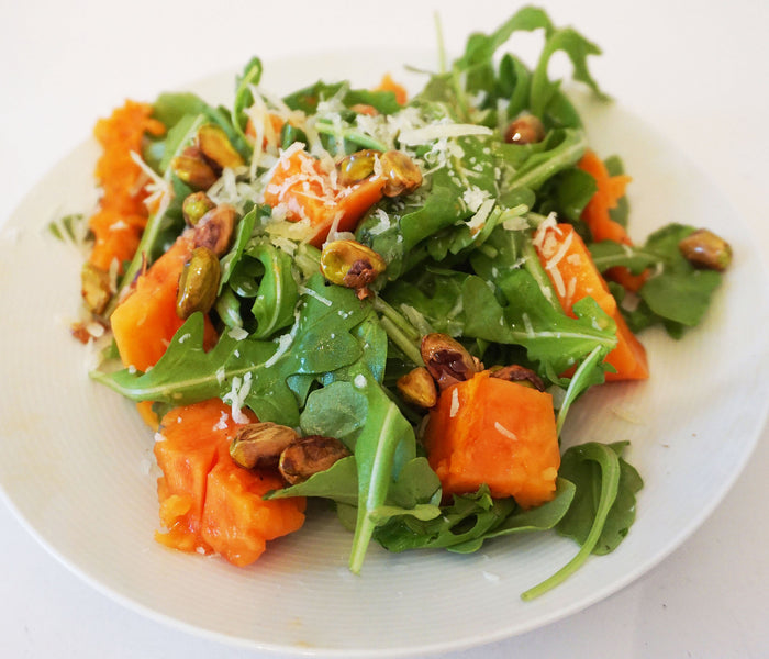 ARUGULA & PAPAYA SALAD