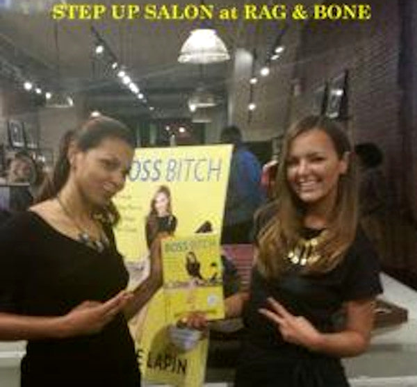 STEP UP holds a Salon event at Rag & Bone