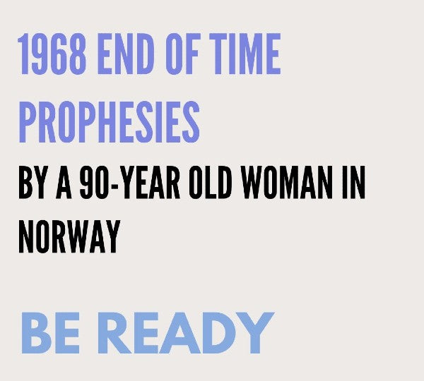 1968 PROPHESIES BY A WOMAN IN NORWAY