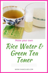 rice water & green tea facial toner