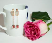 Fashion Drop Earrings with Crystal - CHANCEUSES