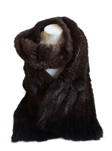 Mink Scarf - CHANCEUSES
