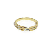 Solid 14k Yellow Gold Band